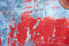 Scratched paint Royalty Free Stock Photo