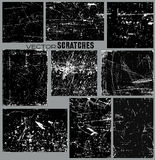 Scratched Panels  Royalty Free Stock Images