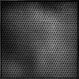 Scratched perforated metal background Royalty Free Stock Image