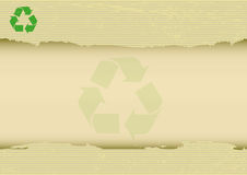 Scratched recyclabe horizontal background Stock Photos