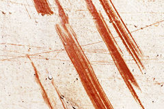 Scratched rusty metallic plate Royalty Free Stock Images