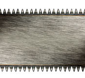 Scratched saw blade Stock Image