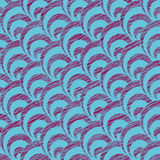 Scratched shell pattern. Based on Traditional Japanese Embroidery. Stock Images