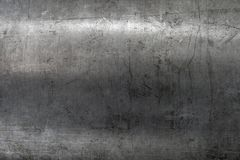 Scratched steel texture Royalty Free Stock Photos