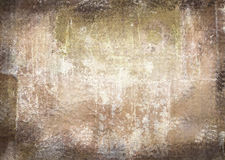 Scratched vintage abstract grunge theme with black scuffed edges Stock Photography