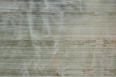 Scratched White Transparence Cellular Polycarbonate Sheet Backgr Stock Image
