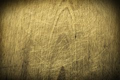 Scratched wooden background Royalty Free Stock Image