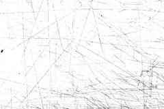 Scratches and dirt texture on white background.  royalty free stock images