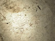 Scratches on the Terrazzo floor crack. Closeup Scratches on the Terrazzo floor crack light royalty free stock images