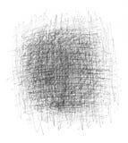 Scratchy Hintergrund der schwarzen Tinte Lizenzfreies Stockfoto