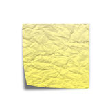 Scratchy Note paper on white back ground stock image