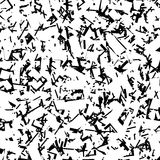 Scratchy rough chaotic texture with irregular random overlapping Royalty Free Stock Photo