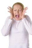 Scream Royalty Free Stock Image