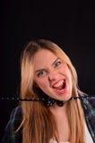 scream photographie stock libre de droits