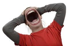 scream photo libre de droits