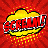 Scream! Royalty Free Stock Photography