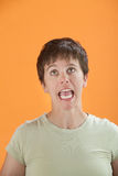 Scream Out Loud Stock Photo
