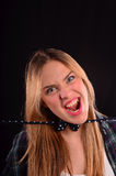Scream Royalty Free Stock Photography