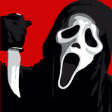 Scream Scary. Horror Illustration Vector for Use Royalty Free Stock Photography