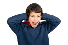 Scream and shout Stock Photos
