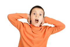 Scream and shout Royalty Free Stock Image