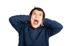 Scream and shout Royalty Free Stock Photos