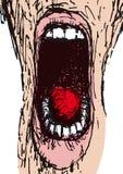 Scream (vector) Royalty Free Stock Photos