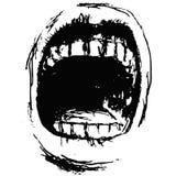 Scream (vector) Royalty Free Stock Photography