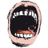 Scream (vector) Stock Photography