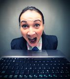 Scream Royalty Free Stock Images