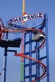 Scream Zone at Luna Park, Coney Island, Stock Image