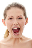 Screaming Stock Image