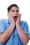 мальчик screaming Стоковое Фото