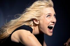 screaming Стоковое фото RF