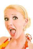 Screaming Royalty Free Stock Images