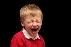 Screaming boy Royalty Free Stock Image