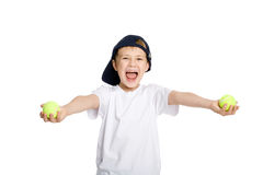Screaming boy Royalty Free Stock Images