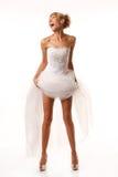 Screaming bride Stock Photos