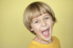Screaming child Stock Images