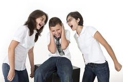 Screaming conflict Royalty Free Stock Photography