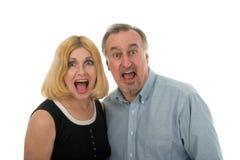 Screaming Couple Stock Photos