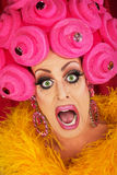 Screaming Drag Queen Close up Stock Images