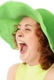 Screaming girl Royalty Free Stock Image