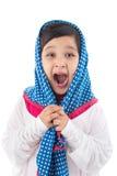 Screaming girl royalty free stock photo