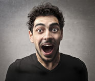 Screaming Guy Royalty Free Stock Image