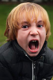 Screaming Kid Stock Image