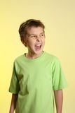 Screaming little boy Stock Photography