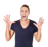 Screaming Stock Images