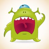 Screaming monster Stock Photos