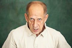 Screaming Senior Man Royalty Free Stock Photography